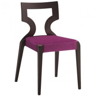 Contemporary Restaurant Solid Beech Wood Side Chair CFC-191W