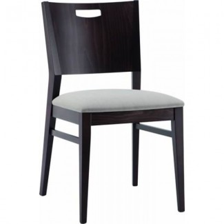 Contemporary Restaurant Solid Beech Wood Side Chair - CFC1015W