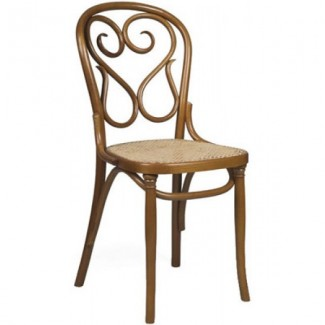 Contemporary Restaurant Solid Beech Wood Side Chair CFC1016W-P