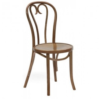 Contemporary Restaurant Solid Beech Wood Side Chair CFC1017W