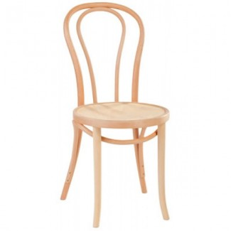 Contemporary Restaurant Solid Beech Wood Side Chair CFC1018W-P