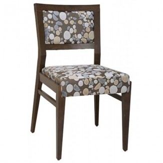 Contemporary Restaurant Solid Beech Wood Side Chair CFC-1033