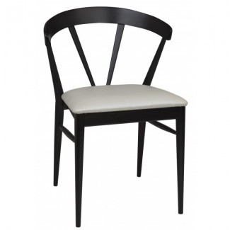 Contemporary Restaurant Solid Beech Wood Side Chair CFC-1084BL