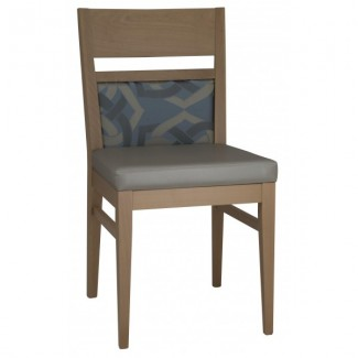 Contemporary Restaurant Solid Beech Wood Side Chair CFC1088