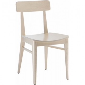 Contemporary Restaurant Solid Beech Wood Side Chair CFC-1095H