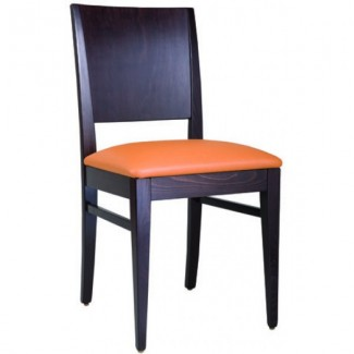 Contemporary Restaurant Solid Beech Wood Side Chair CFC-166W