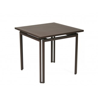 "Costa 31.5"" Square Bistro Table without Parasol Hole"
