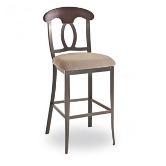 Cynthia 49211-USWB Hospitality distressed metal bar stool