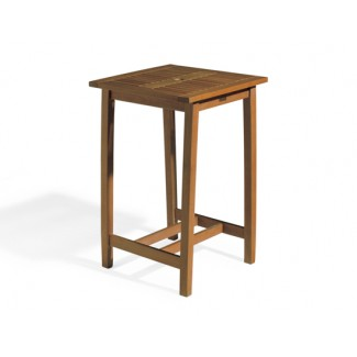 "Dartmoor 28"" Square Bar Table - Brown Umber"