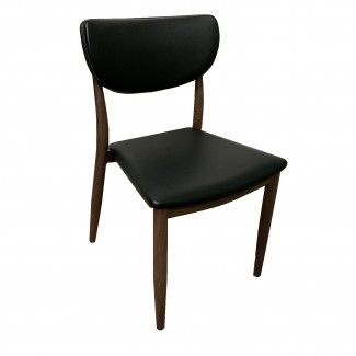 Desi Mid Century Modern Restaurant Lounge Upholstered Dining Side Chair