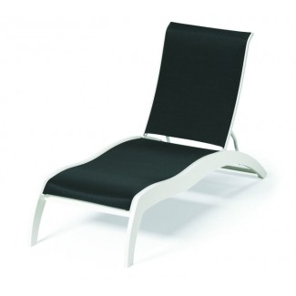 Dune Sling Stacking Chaise Lounge