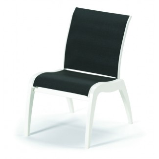 Dune Sling Stacking Resin Side Chair