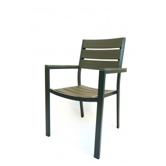 Aluminum Restaurant Furniture - Durango Arm Chair