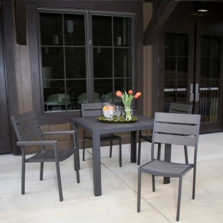 Aluminum Restaurant Furniture - Durango Chair and Table Collection