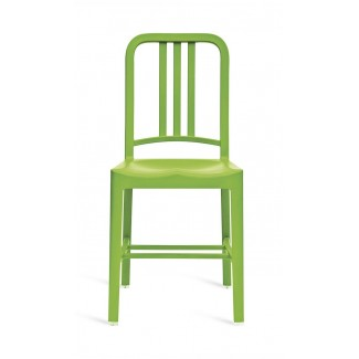 111 Navy Recycled Chair in Grass