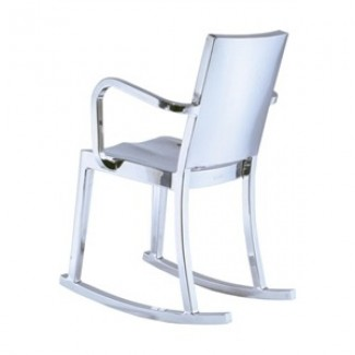 Hudson Aluminum Rocking Chair with Arms