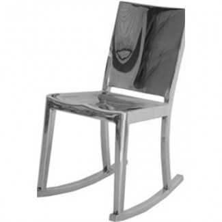 Hudson Aluminum Rocking Chair
