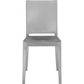 Eco Friendly Indoor Restaurant Furniture Hudson Aluminum Side Chair