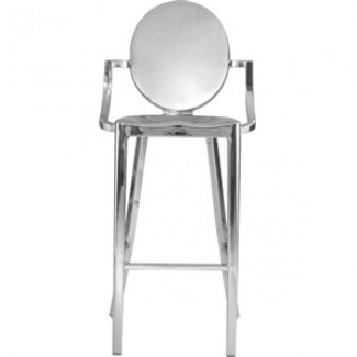 Kong Aluminum Bar Stool with Arms