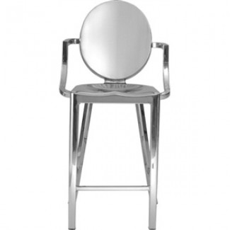Kong Aluminum Counter Stool with Arms