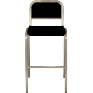 Nine-0 Aluminum Non-Stacking Soft Back Bar Stool