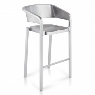 Eco Friendly Indoor Restaurant Furniture SoSo Aluminum Bar Stool
