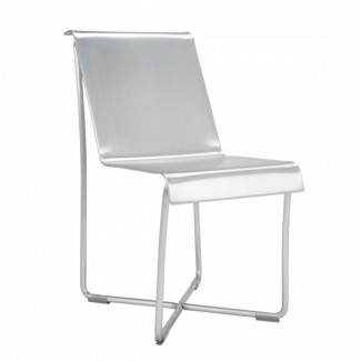 Superlight Aluminum Chair - Hand Brushed
