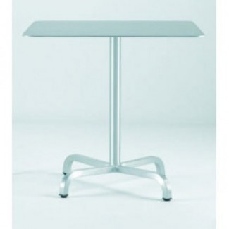 "30"" Square Aluminum Cafe Table"