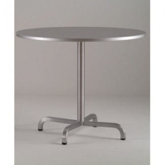 "36"" Round Aluminum Cafe Table"