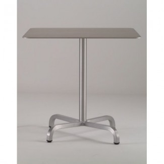 "36"" Square Aluminum Cafe Table"