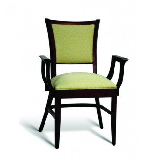 Eco Friendly Restaurant Beech Solid Wood Arm Chair CC106 Series