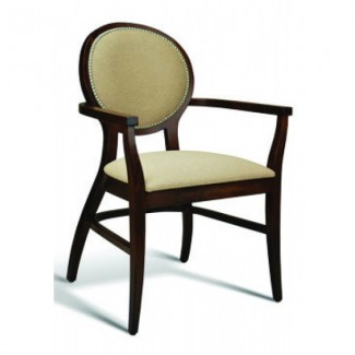 Eco Friendly Restaurant Beech Solid Wood Arm Chair CLARK Series
