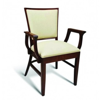 Beech Wood Stacking Arm Chair Quincy Series