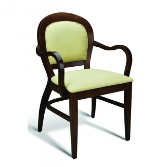Eco Friendly Restaurant Beech Solid Wood Arm Chair SUTTON Series