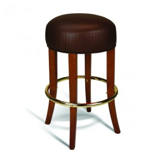 Beech Wood Backless Bar Stool 314 Series
