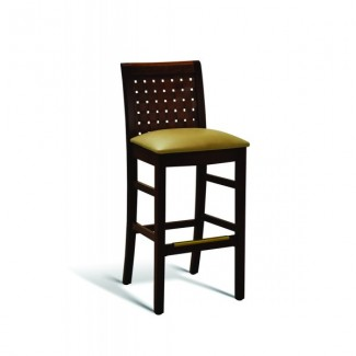 Beech Wood Bar Stool 350 Series