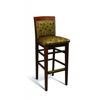 Beech Wood Bar Stool 379 Series