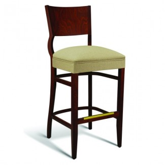 Beech Wood Bar Stool CC140 Series with Wrapped Sides