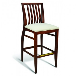 Beech Wood Bar Stool Incline Series