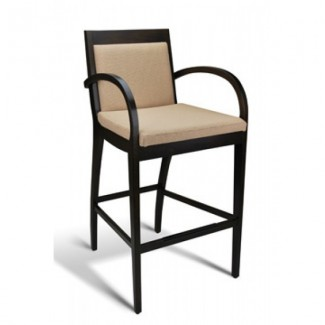 Beech Wood Bar Stool Metropolitan Series with Arms