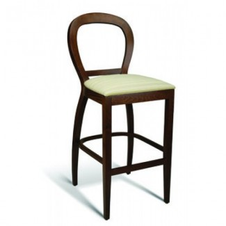 Beech Wood Bar Stool Wisp Series