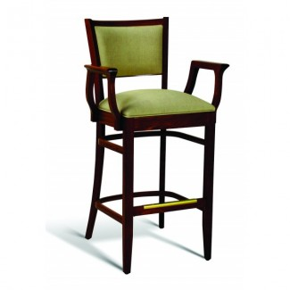 Beech Wood Bar Stool CC106 Series with Arms