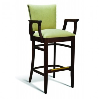 Beech Wood Bar Stool CC107 Series with Arms