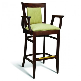 Beech Wood Bar Stool CC111 Series with Arms