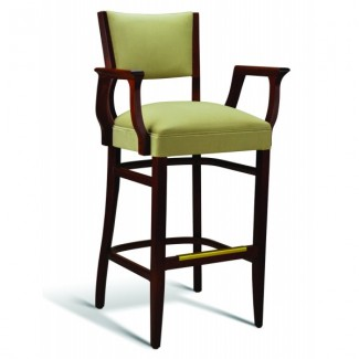 Beech Wood Bar Stool CC141 Series with Arms