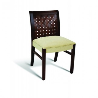 Beech Wood Side Chair 350 Series with Wrapped Sides