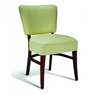 Beech Wood Side Chair 440 Series with Wrapped Sides
