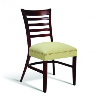 Beech Wood Stacking Side Chair CC105 Series with Wrapped Sides