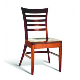 Beech Wood Stacking Side Chair CC105 Series with Padded Seat