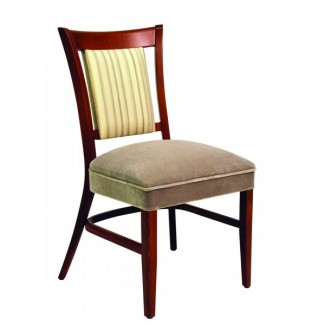 Beech Wood Stacking Side Chair CC111 Series with Wrapped Sides